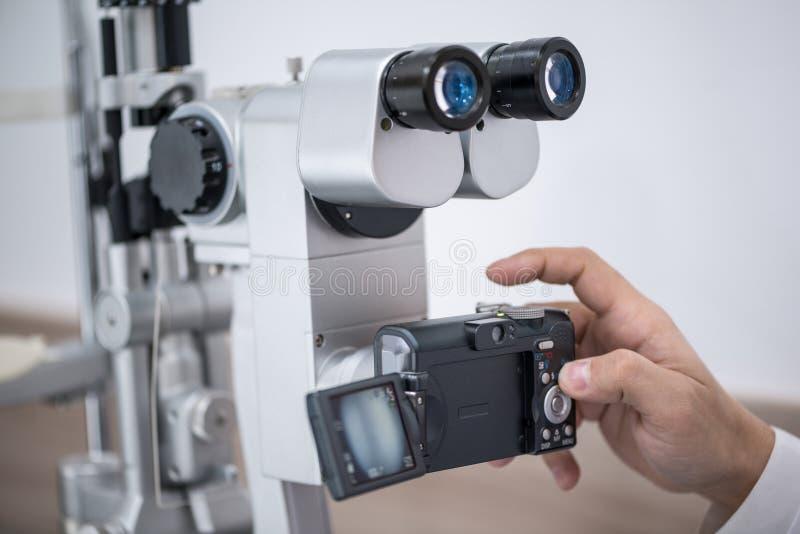 Materiaal in de oogkliniek royalty-vrije stock foto