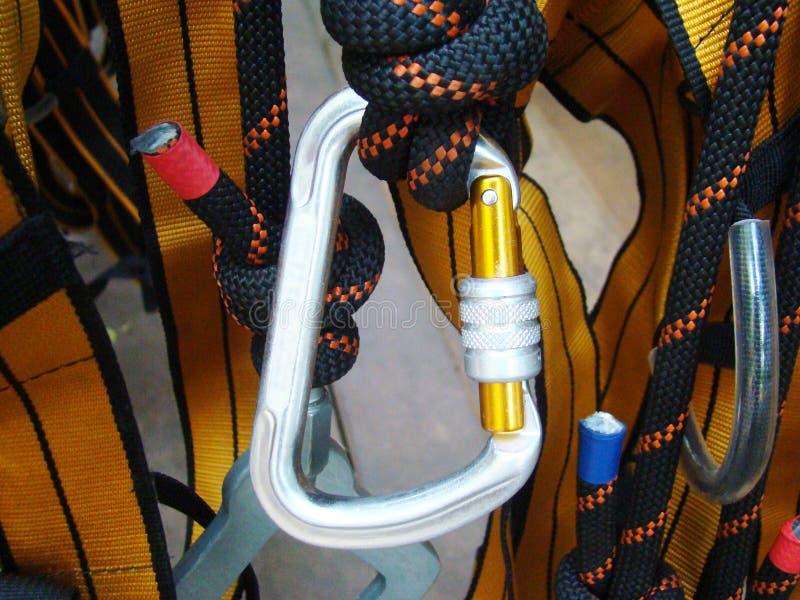 Materiaal voor industrieel alpinisme royalty-vrije stock foto