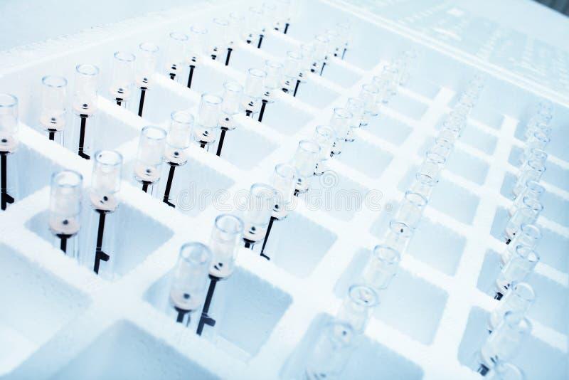 Materiaal voor laboratoriumonderzoek stock fotografie