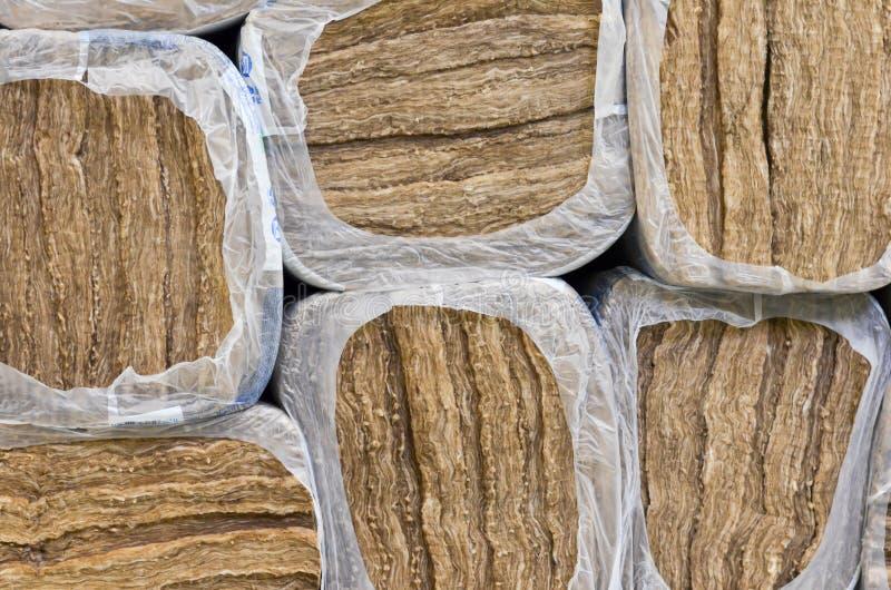Materiais de isolação de construção térmicos para a venda fotos de stock