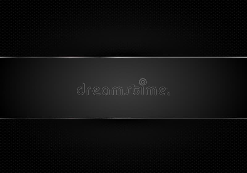 Material abstracto negro 3d del papel de la raya del modelo del fondo rendir disposici?n comercial del concepto de la venta de la stock de ilustración