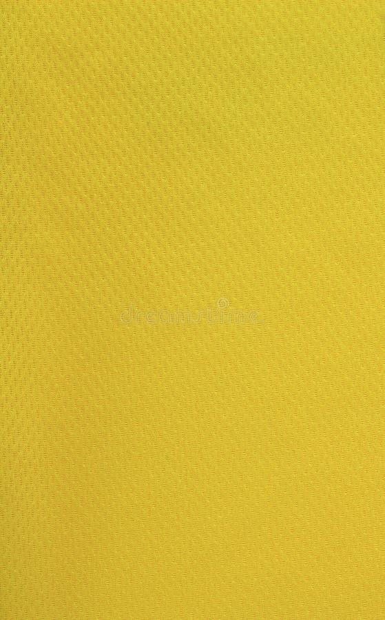 Material amarillo de la camisa fotos de archivo libres de regalías