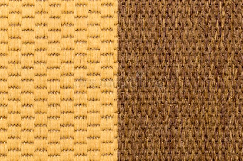 Material from the carpet as background stock photos