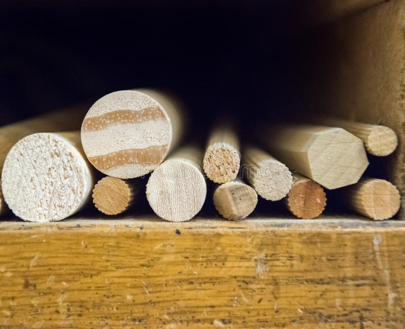 Material de construção de madeira da madeira para o fundo e a textura fotografia de stock