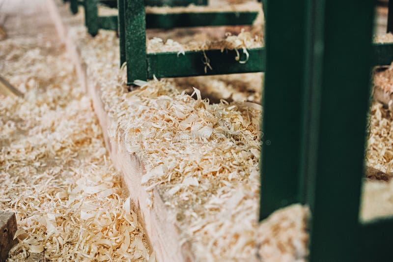 Material de construção de madeira da madeira para o fundo e a textura Fim acima imagem de stock royalty free