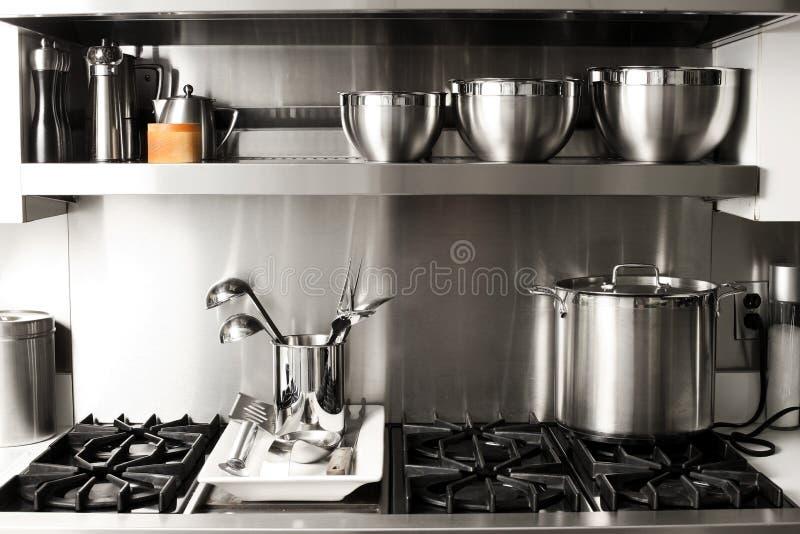 Material de cozinha foto de stock royalty free
