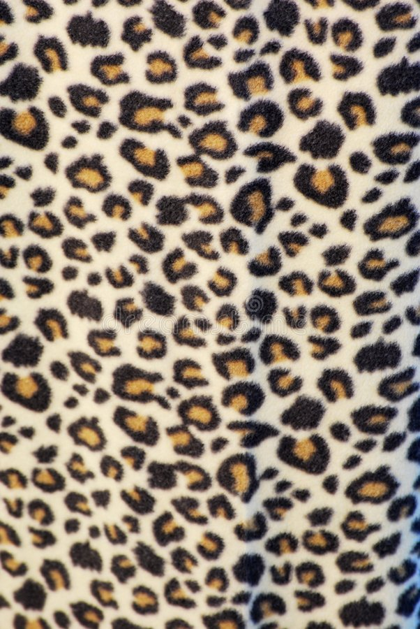 Material de la impresión del leopardo foto de archivo