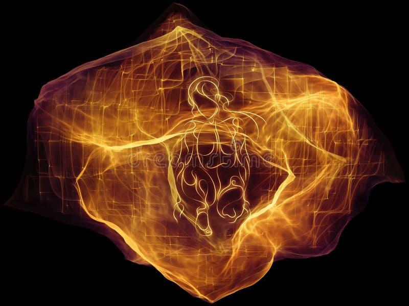 Material de la partícula ideal libre illustration