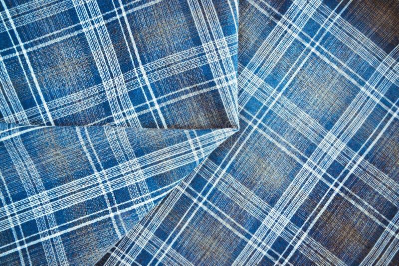 Material de la tela escocesa fotografía de archivo libre de regalías