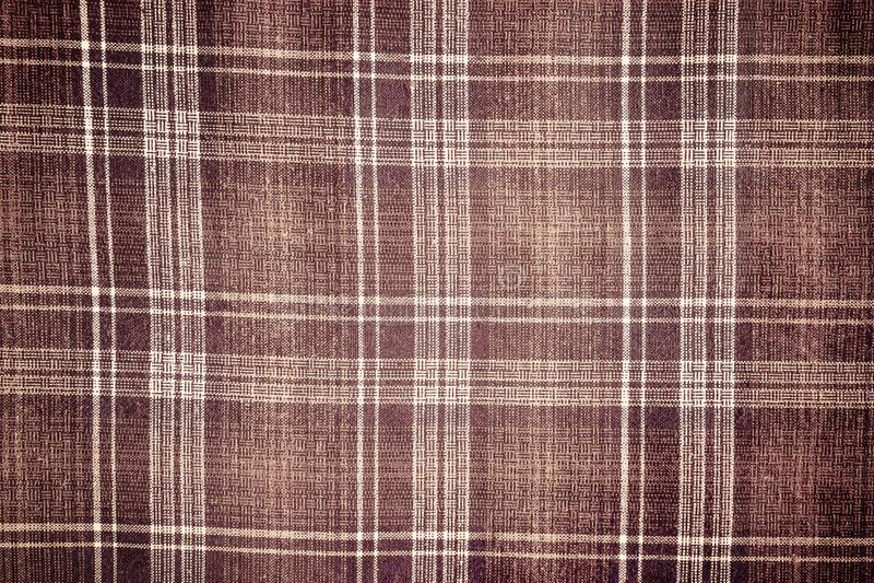 Material de la tela escocesa fotografía de archivo