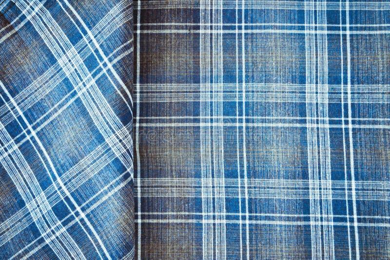 Material de la tela escocesa foto de archivo libre de regalías