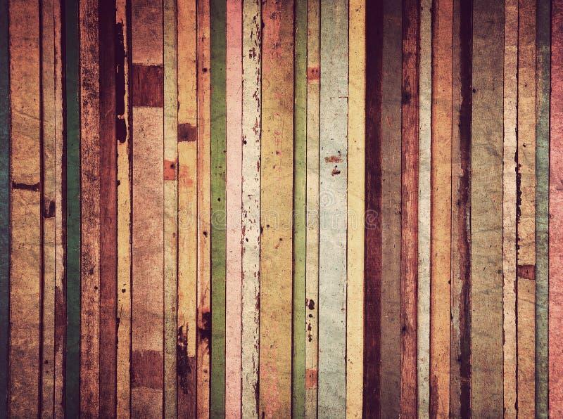 Material de madera para el papel pintado de la vendimia foto de archivo