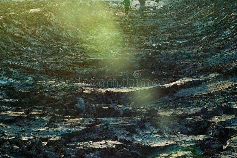 Material del suelo de la construcción en la sol fotografía de archivo libre de regalías