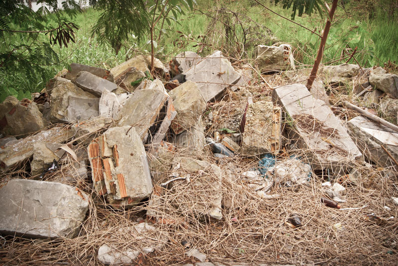 Download Material From Demolished House Royalty Free Stock Photo - Image: 33998415