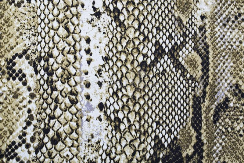 Material in den Tierhautmustern, ein Hintergrund stockfotografie