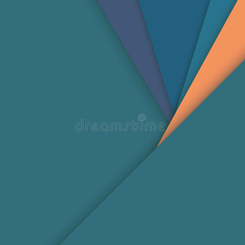 Material design abstract vector background with geometric isometric shapes. vector illustration
