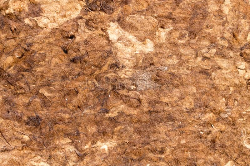 Material made of camel wool royalty free stock photos