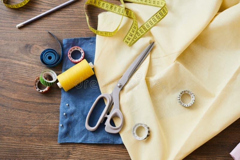 Material para costurar imagens de stock