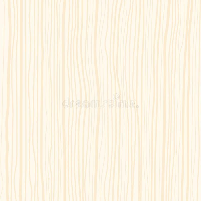 Material perfecto del modelo de madera marrón claro del fondo para el archite stock de ilustración
