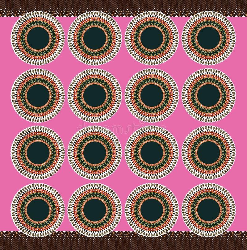 Material rosado africano libre illustration
