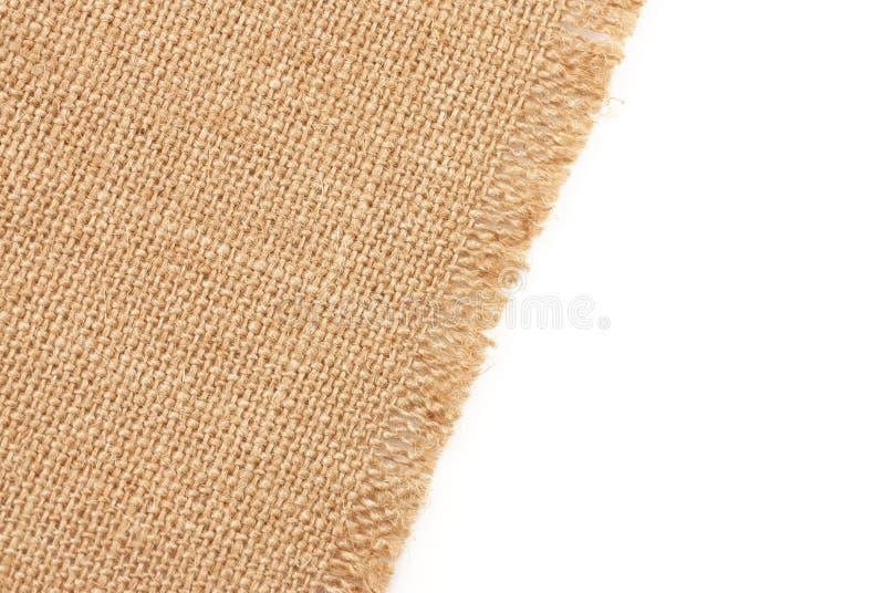 material sackcloth royaltyfri bild
