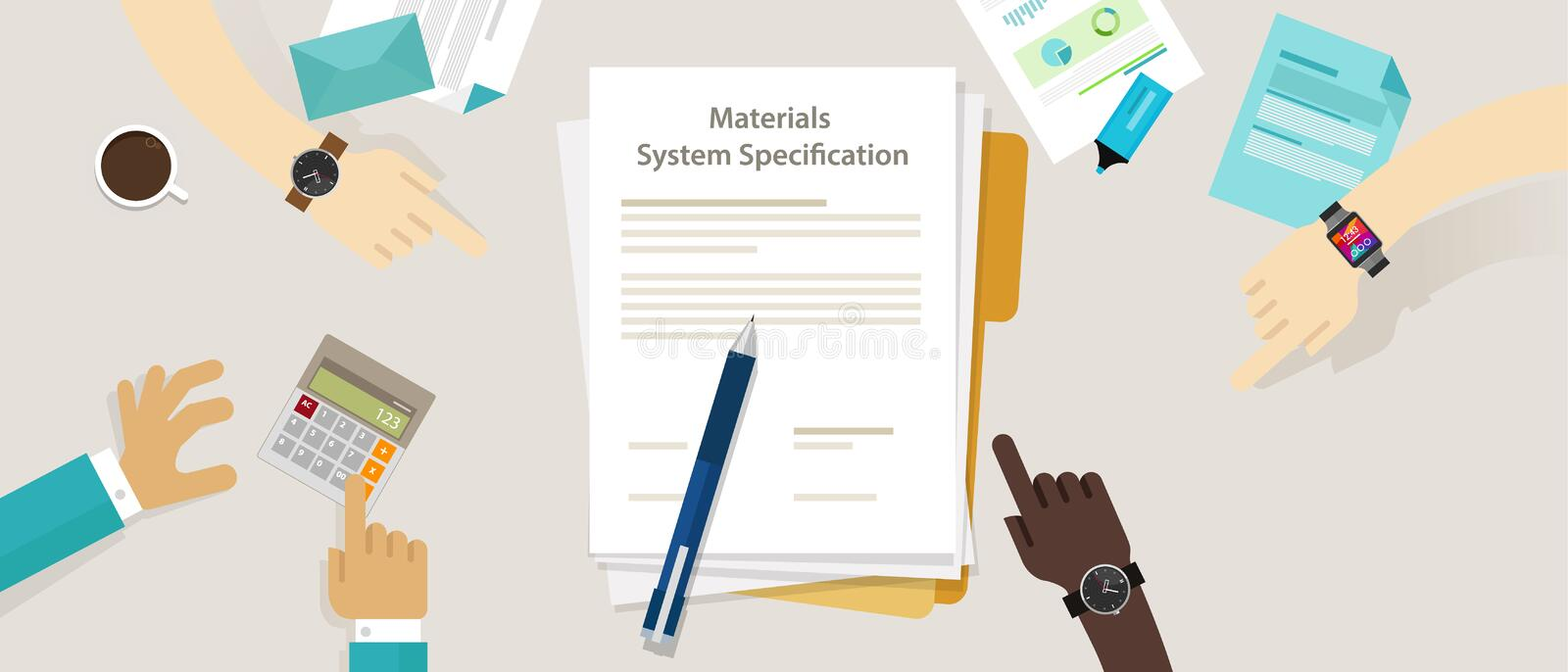 Material System Specifications Project Procurement User Requirement