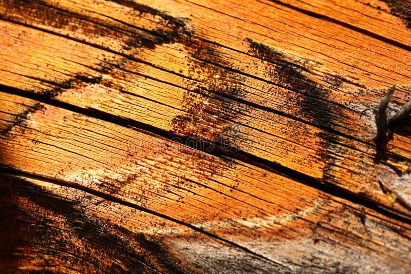 Material textured rachado de madeira fotos de stock royalty free