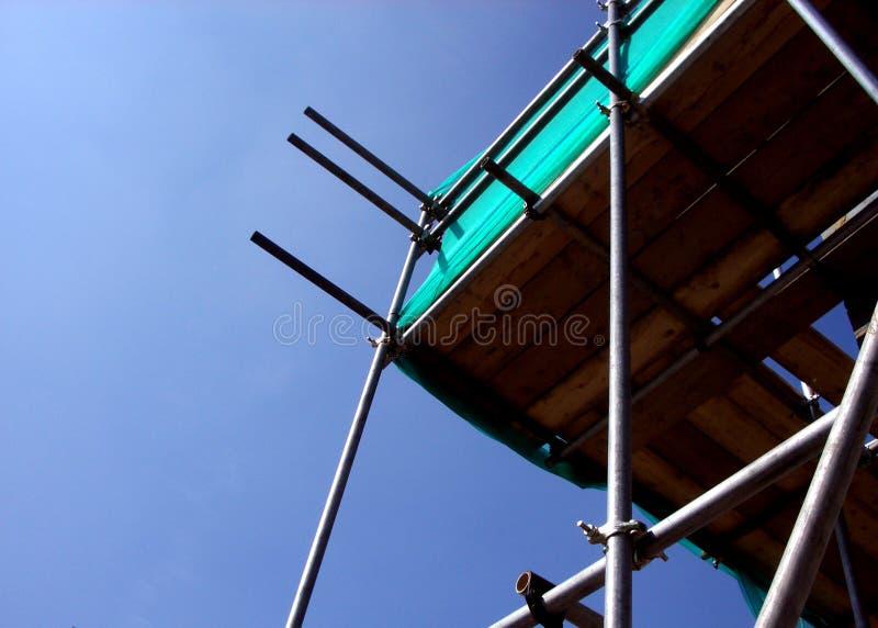 Material till byggnadsställning royaltyfri bild