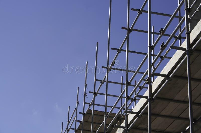 material till byggnadsställning royaltyfria bilder