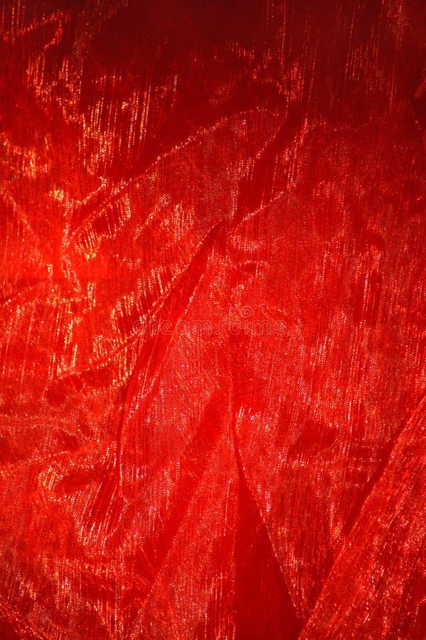Material vermelho foto de stock royalty free