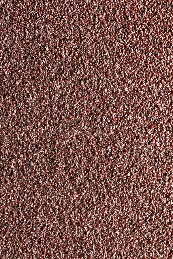 Materiale abrasivo di superficie, per l'elaborazione del metallo arrugginito immagine stock