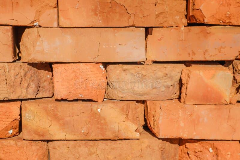 Materiale da costruzione: mattoni del lastricatore fotografia stock