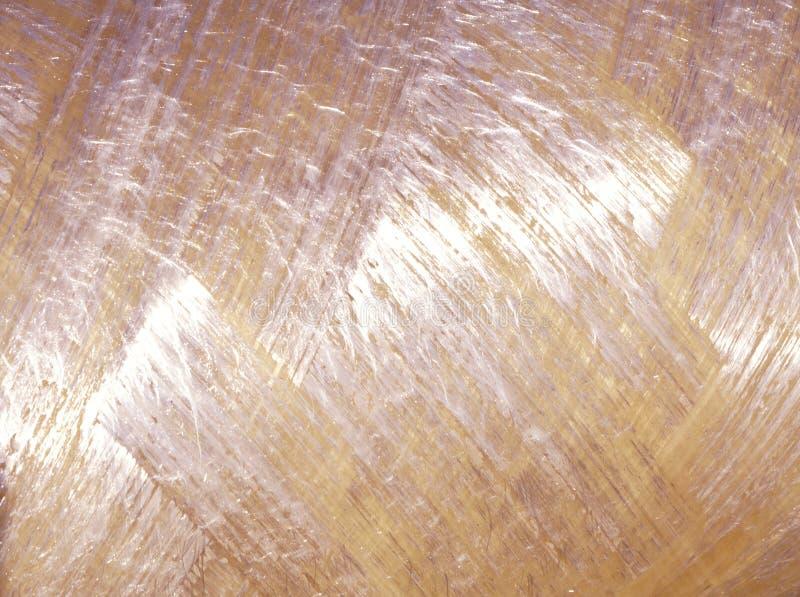 Materiale del primo piano dello strato dell'isolamento della lana di vetro immagine stock libera da diritti