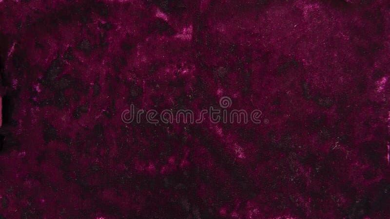 Materiale del tessuto del velluto del velluto di Borgogna del fondo immagine stock