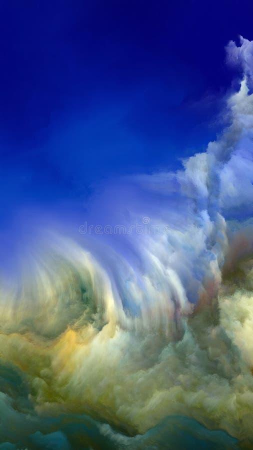 Materiale di atmosfera straniera illustrazione vettoriale
