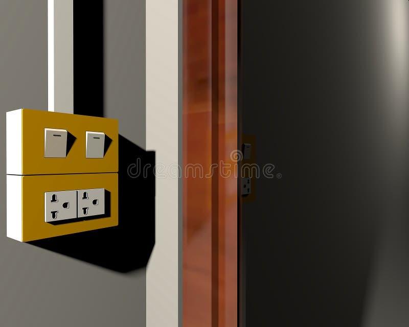 Materiale elettrico immagine stock