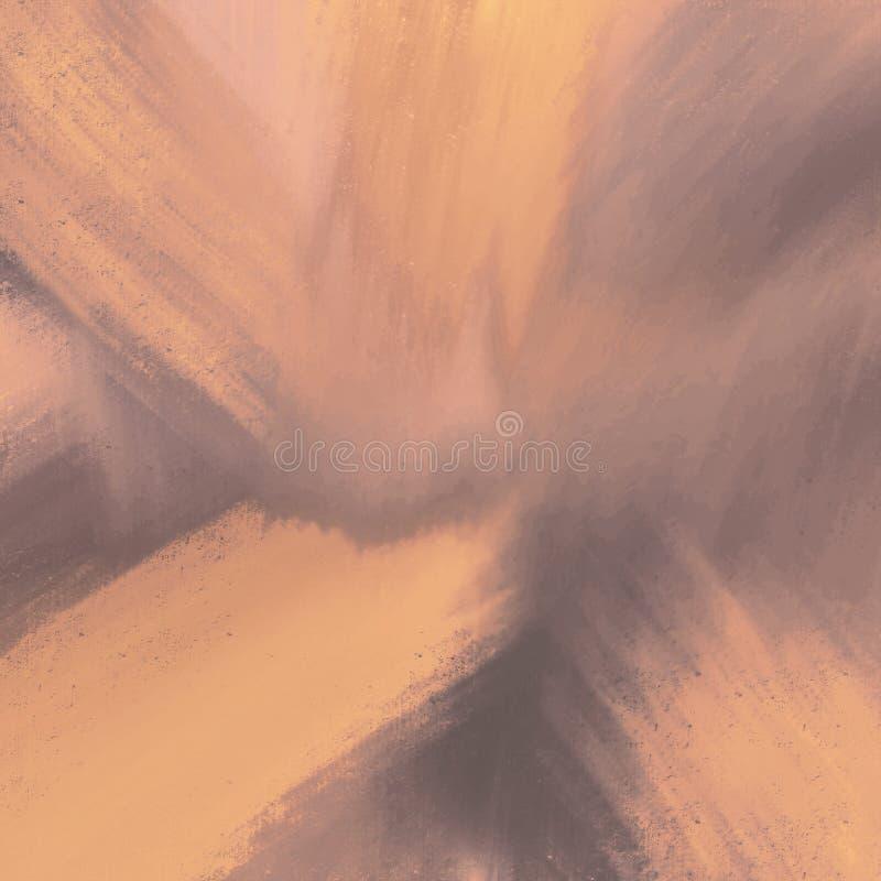 Materiale illustrativo dipinto disegnato a mano dei colpi della spazzola dell'inchiostro dell'estratto Struttura spessa della pit fotografia stock libera da diritti