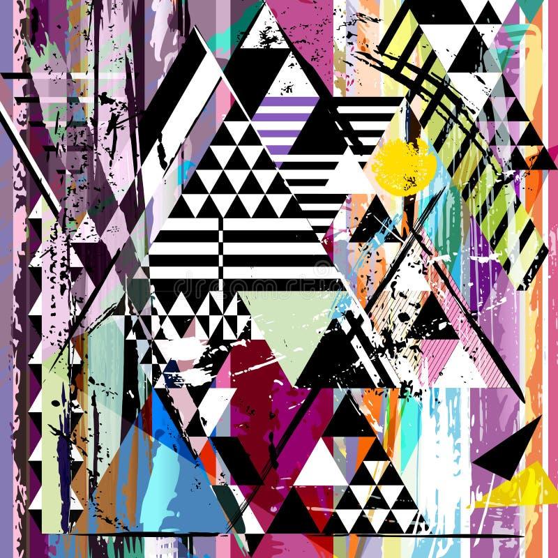 Materiale illustrativo geometrico astratto royalty illustrazione gratis