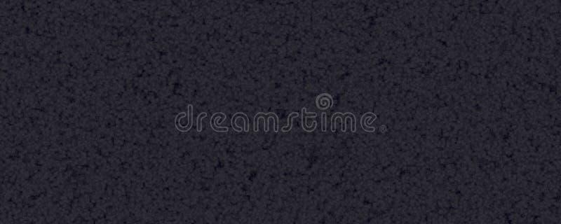 Materiale nero della pelliccia del tappeto fotografia stock