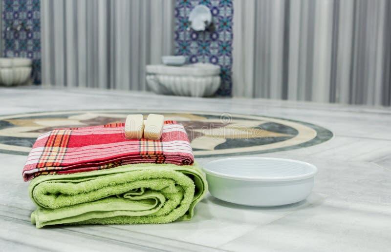 materiale tradizionale del bagno turco fotografie stock