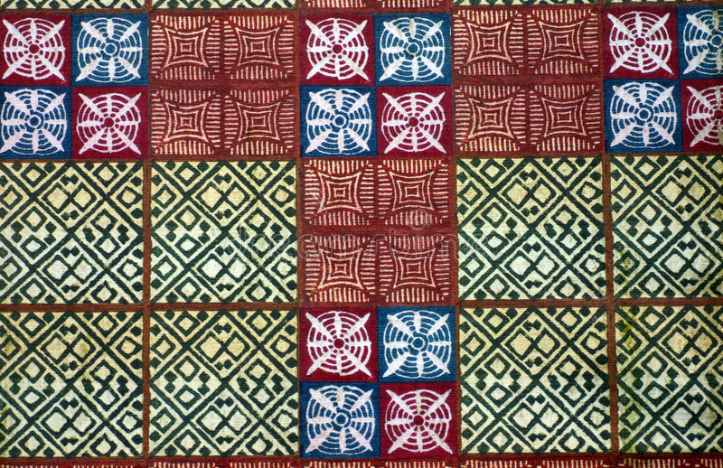 Materiales nativos africanos   fotografía de archivo