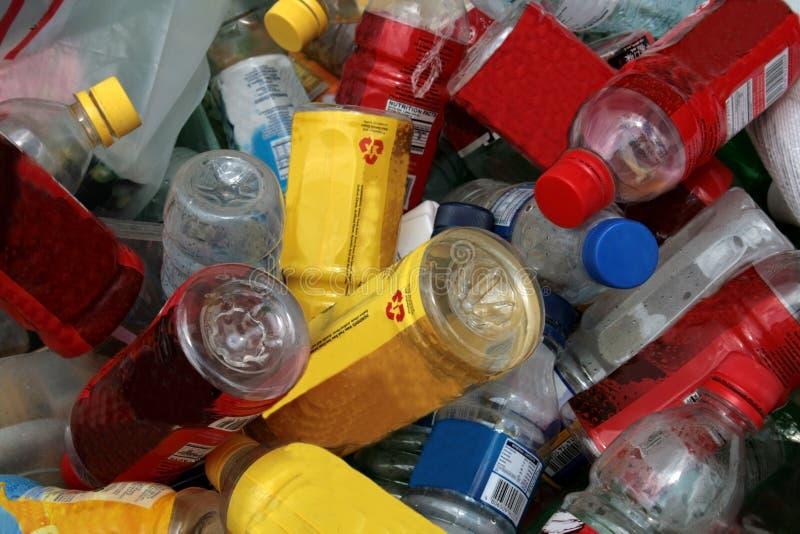 Materiales reciclables foto de archivo libre de regalías