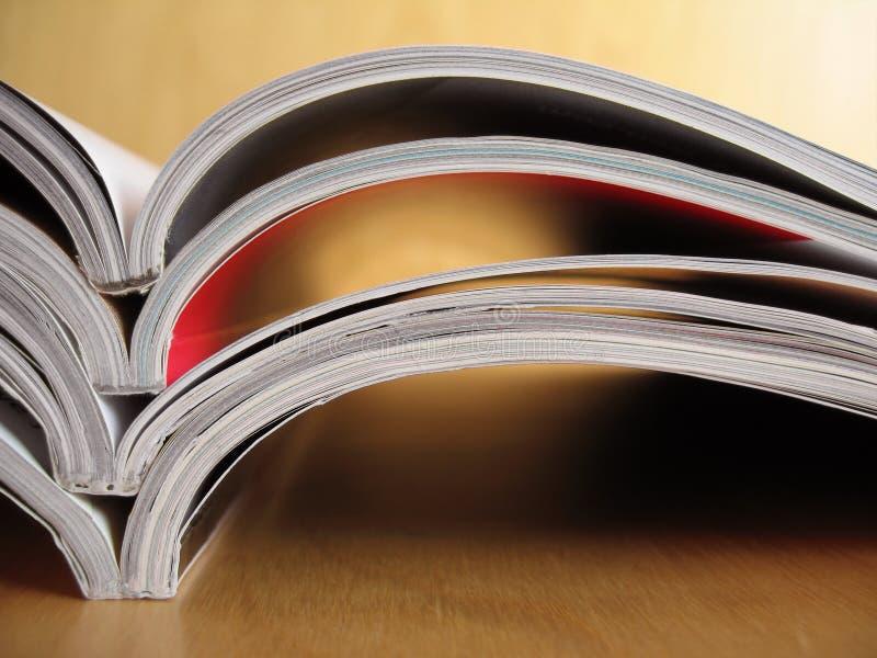 Materiali di lettura 5 immagine stock