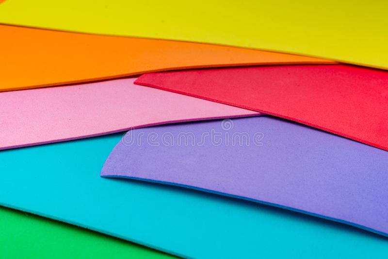 Materialnego projekta kolorowe warstwy obrazy stock