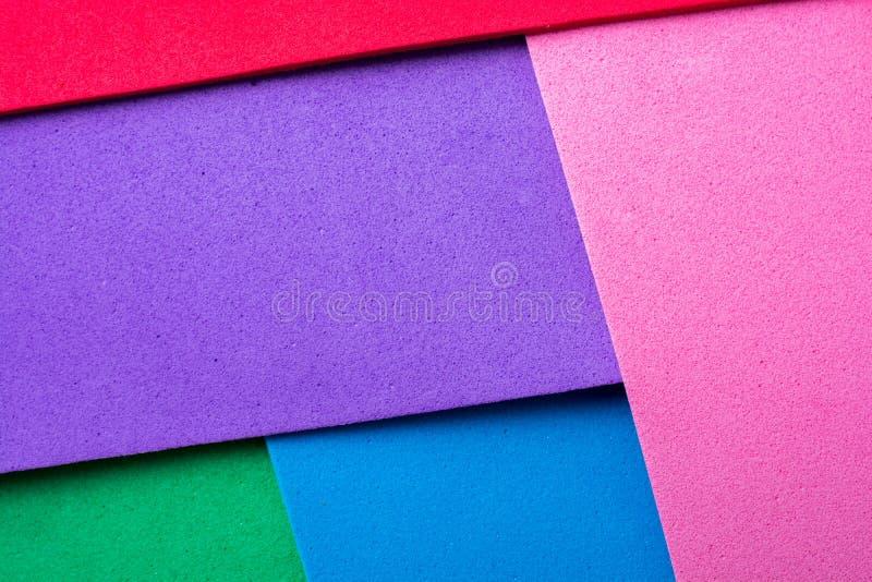 Materialnego projekta kolorowe warstwy fotografia stock