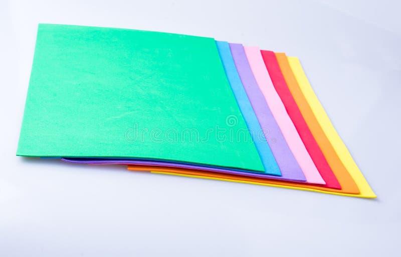 Materialnego projekta kolorowe warstwy zdjęcia stock
