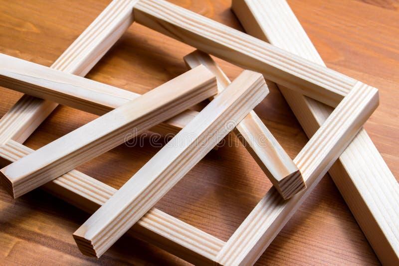 Materias primas de madera foto de archivo