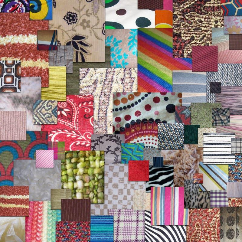 Materias textiles imagen de archivo libre de regalías