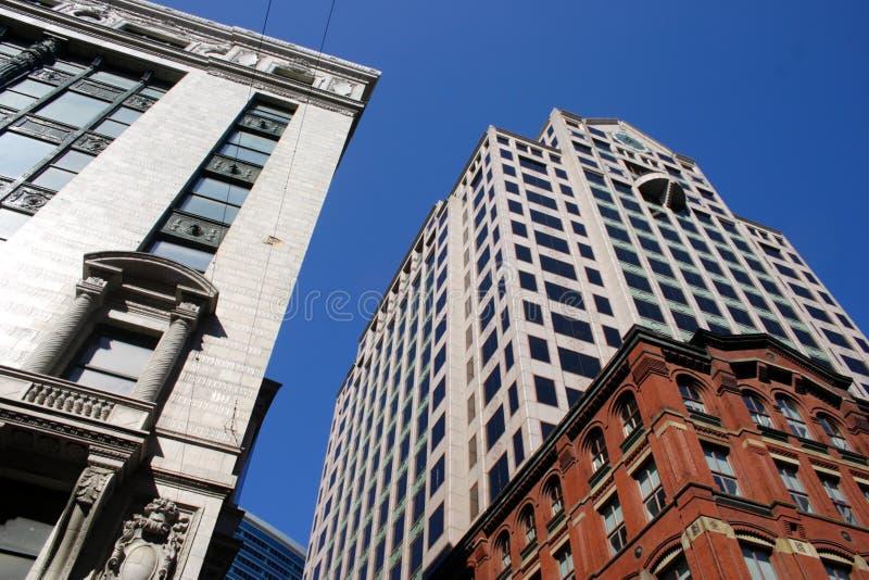 Materielbild av Boston, USA royaltyfria bilder