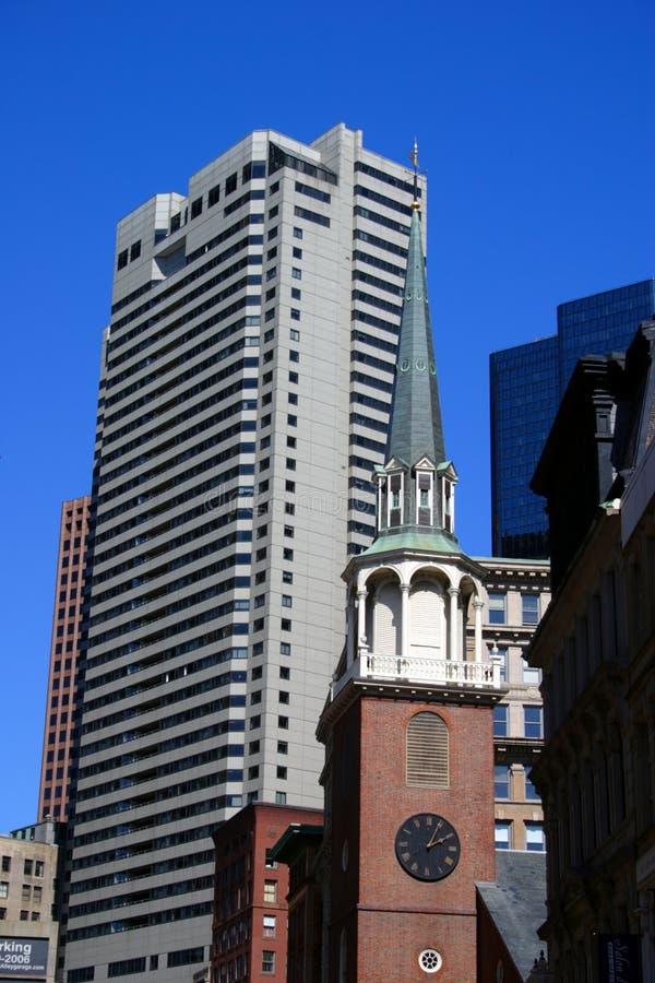 Materielbild av den Boston staden, USA royaltyfri foto